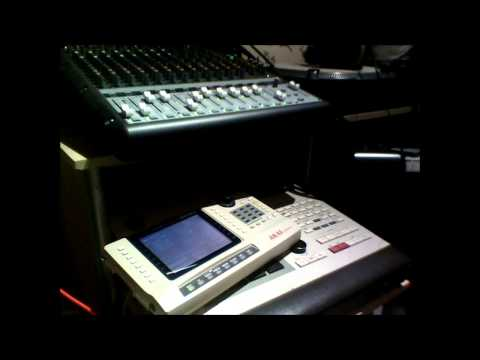 MPC60 s6000 advanced sequences (KORG MS10 sounds)