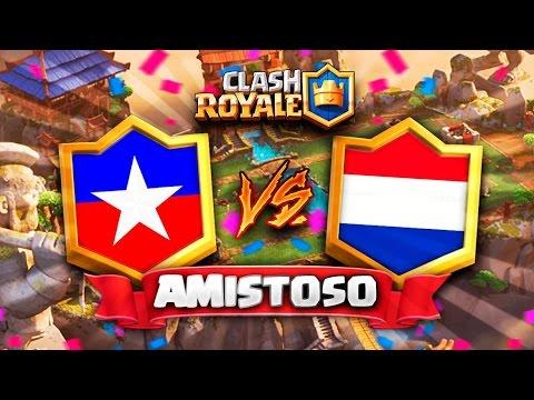CHILE vs HOLANDA // Clash Royale Amistoso en DIRECTO - Surgical Goblin  vs TheGameHuntah