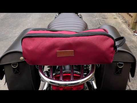 Triumph T120 ONE BAG CAMPING? Take a seat! TREKOLOGY lightweight camping chair.