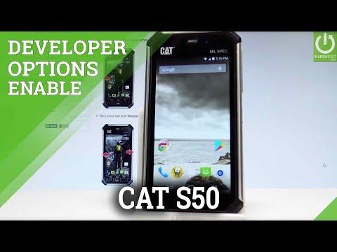 CATERPILLAR S50 ALLOW DEVELOPER OPTIONS / USB Debugging
