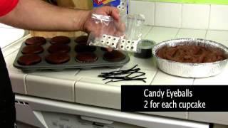 Halloween - Scary Cupcakes