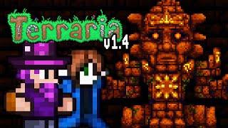Dschungel-Tempel & Golem Boss! | Terraria 1.4 Update (Part 23)