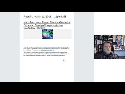 Fractal Physics Cause of Gravity-w/Mark Rohrbaugh & Dan Winter-FractalU