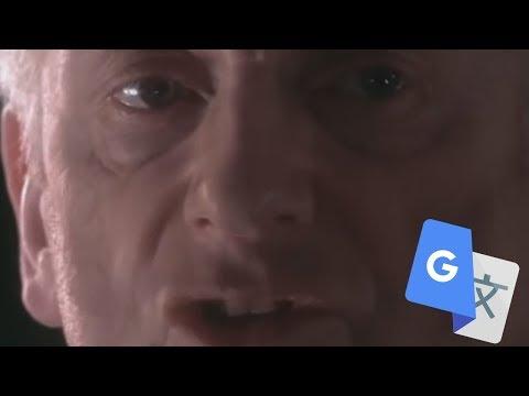 Darth Plagueis But Google Translate