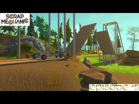 DOUBLE DRAW BRIDGE | Scrap Mechanic Ep5