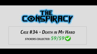 Criminal Case - The Conspiracy, Case 34 - Death in My Hand