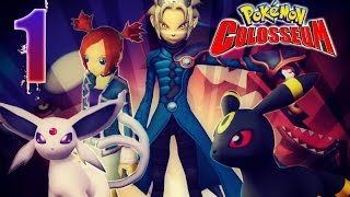 Pokémon Colosseum Walkthrough Part 1 No Commentary (Gamecube)
