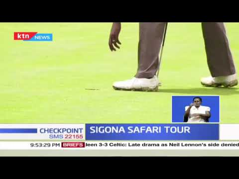 Wakhu and Chinhoi lead day one of Sigona safari tour