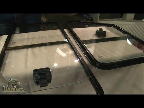 UAZOBAZA # 32 Сдвижные окна и стеклоподъемники для УАЗ