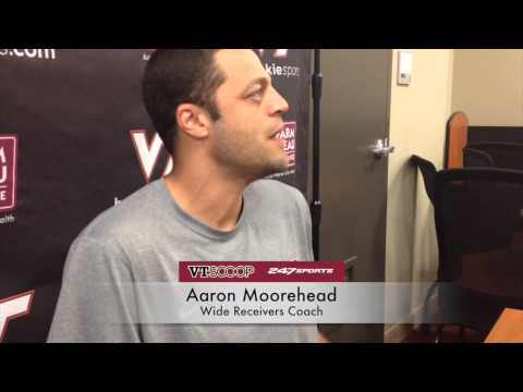 Fall Camp 8/13 with Aaron Moorehead