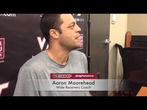 Fall Camp 8/13 with Aaron Moorehead