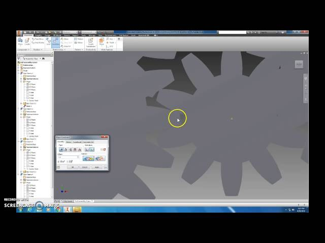 Inventor 2015 animation gear box leclife online video lectures planetary gear system in inventor ccuart Image collections