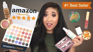 Full Face of Amazon's #1 Best-Selling Makeup | Tutorial & Review