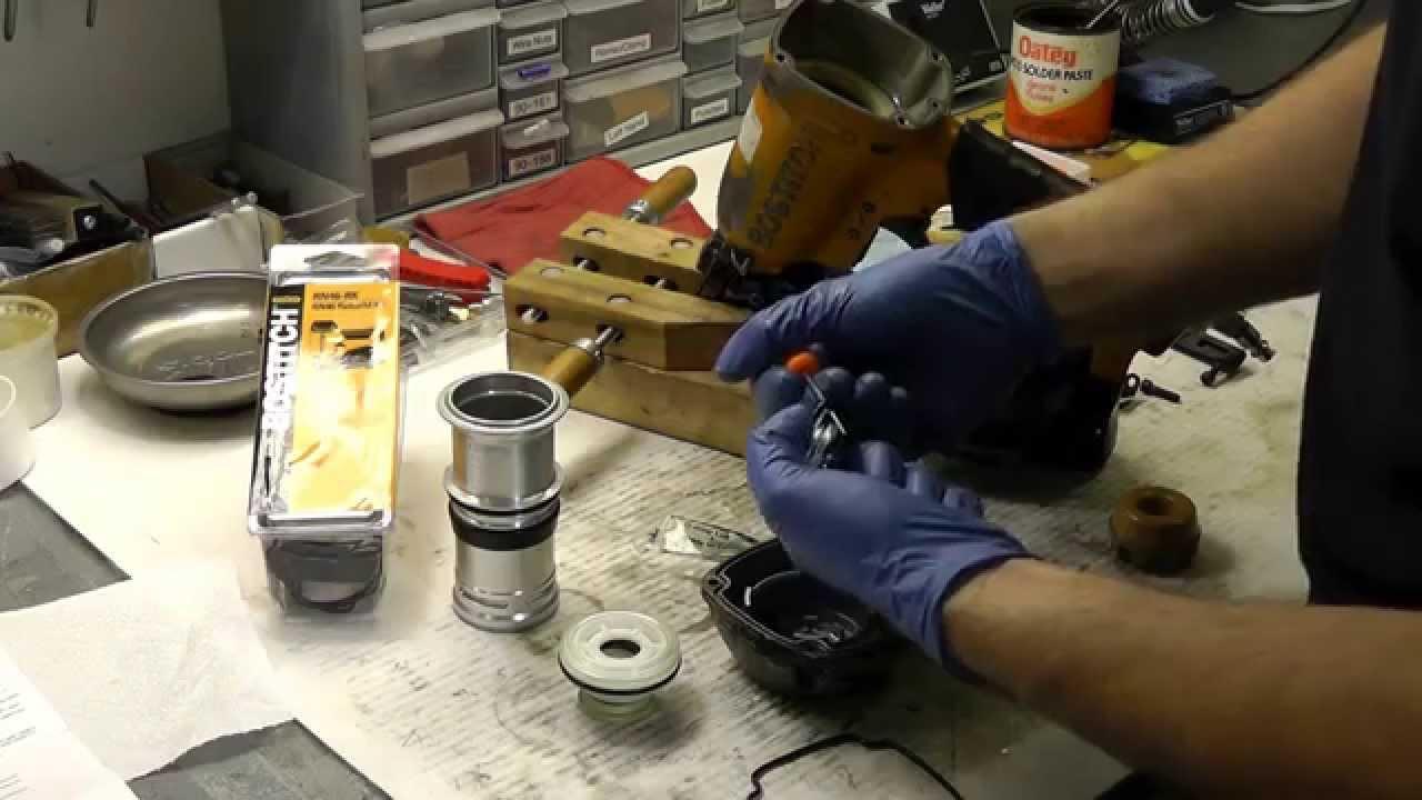 Air Nailer O Ring Kit Install Youtube
