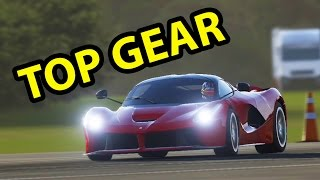 Forza Motorsport 6 - TOP GEAR TRACK - LAFERRARI Gameplay & Replay