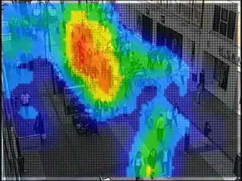 Crowd density - Heatmap
