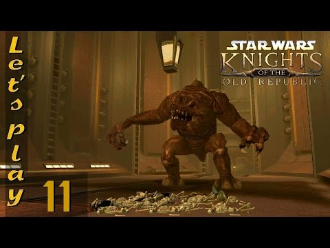 Let's Play Knights Of The Old Republic (KOTOR) Ep. 11 (Widescreen - Modded)