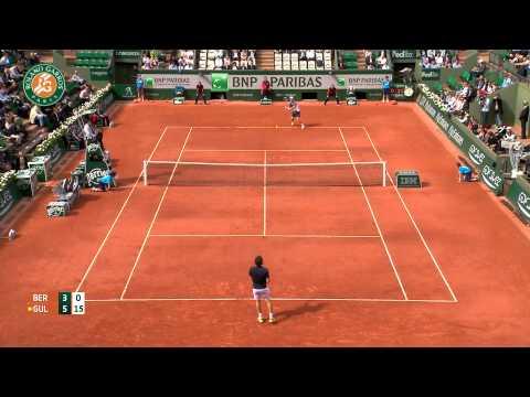 Roland Garros 2014 Tuesday Highlights Berdych Gulbis