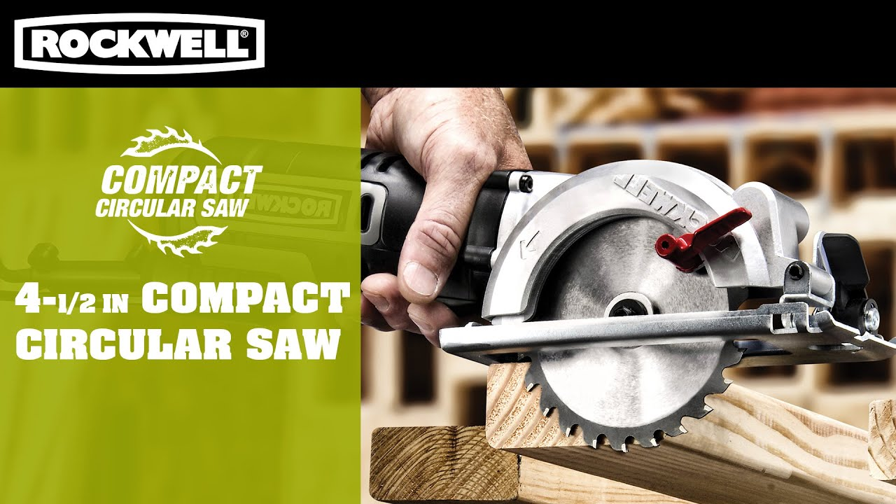 Rockwell 4 12 compact circular saw youtube rockwell 4 12 compact circular saw greentooth Images