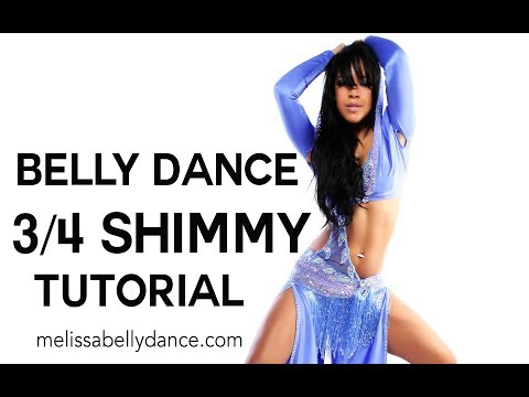 LEARN BELLY DANCE PROFESSIONAL 3/4 SHIMMY | TECHNIQUE TUTORIAL