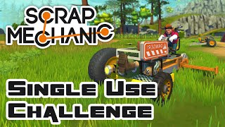 Use Each Part Only Once Challenge - Let's Play Scrap Mechanic Multiplayer - Gameplay Part 140