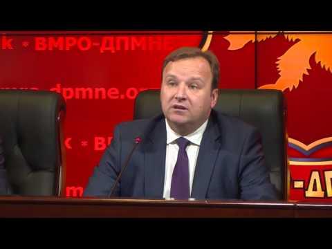 Димитриев: Политичките памфлети за наводно незаконско работење на ВМРО-ДПМНЕ се неточни