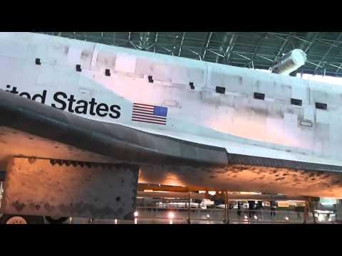 The Steven F.Udvar-Hazy Center In Chantilly,Va.Washington-Dulles Airport 4-28-2015