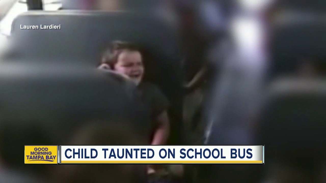 A Mothers Crusade My Special Needs >> Kids Bully 5 Year Old With Special Needs On Bus Youtube