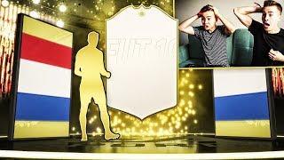 TRAFIŁEM IKONĘ W WOJNIE NA PACZKI! NAJLEPSZY PACK OPENING! ADRYAN VS DAVCZO | FIFA 19
