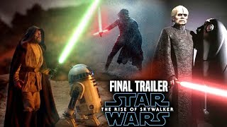 The Rise Of Skywalker Final Trailer Shocking News Revealed! (Star Wars Episode 9 Trailer 3)