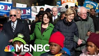 2020 Democrats Campaign On Martin Luther King Jr. Day | MTP Daily | MSNBC