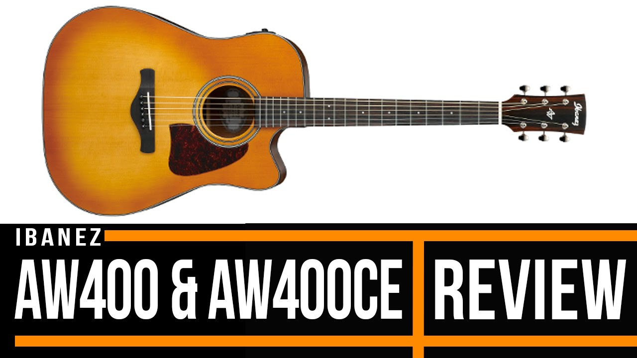 Ibanez Acoustic Guitars Reviews : ibanez aw400 and aw400ce acoustic guitar review youtube ~ Russianpoet.info Haus und Dekorationen