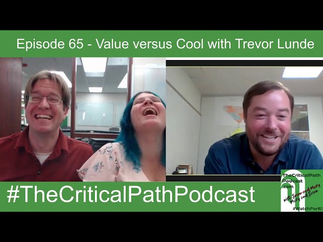 (Edited Version with Trevor's audio fixed!) Episode 65   Value vs  Cool in Construction Tech