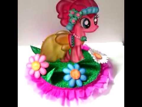 Centros de Mesa Pequeño Pony - YouTube