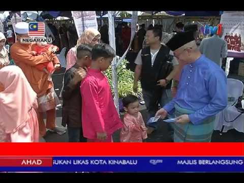 AIDILFITRI 2017: RUMAH TERBUKA MP LABUAN MERIAH [25 JUN 2017]