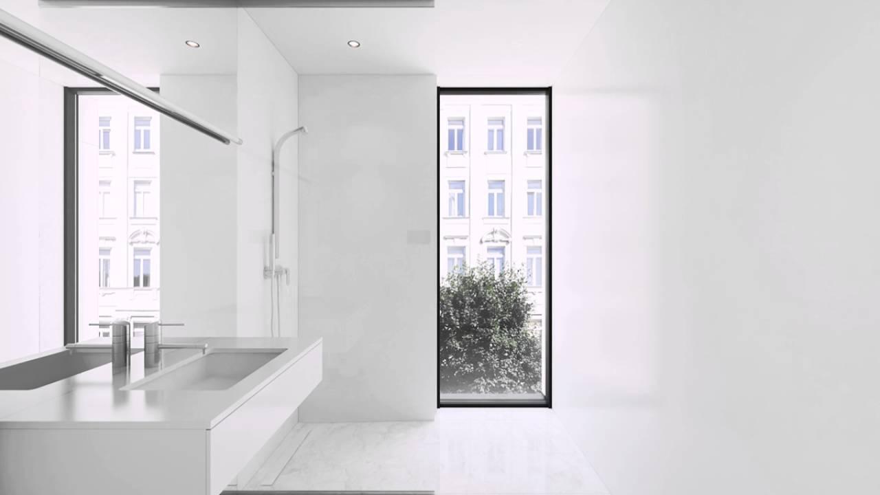 Wei und marmor badezimmer mit fenster youtube - Marmor badezimmer ...
