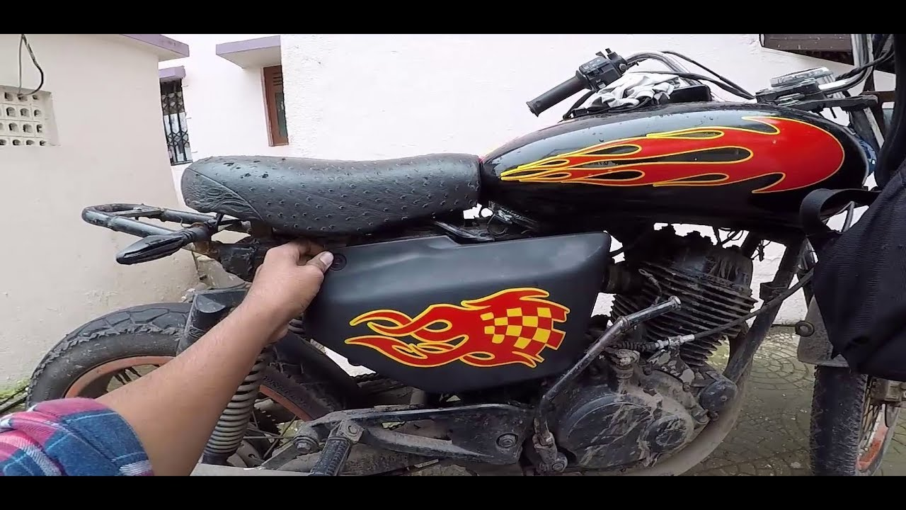 Pulsar modification radium stickers for bikes bullet singh boisar