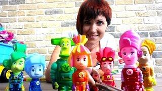 ФИКСИКИ: мультик из игрушек. Селфи палка