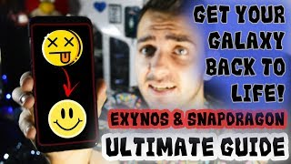 The ULTIMATE Tutorial On How To REPAIR & UPDATE your Galaxy S8/S8+ | EXYNOS & SNAPDRAGON