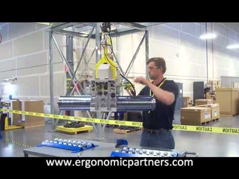 450mm Silicon Ingot Lift Assist