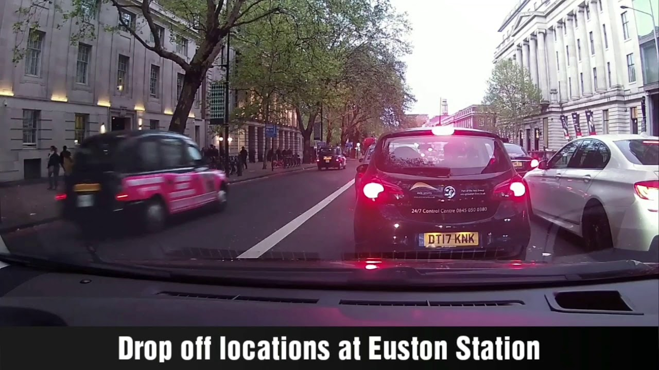 Euston Station – Drop off Locations