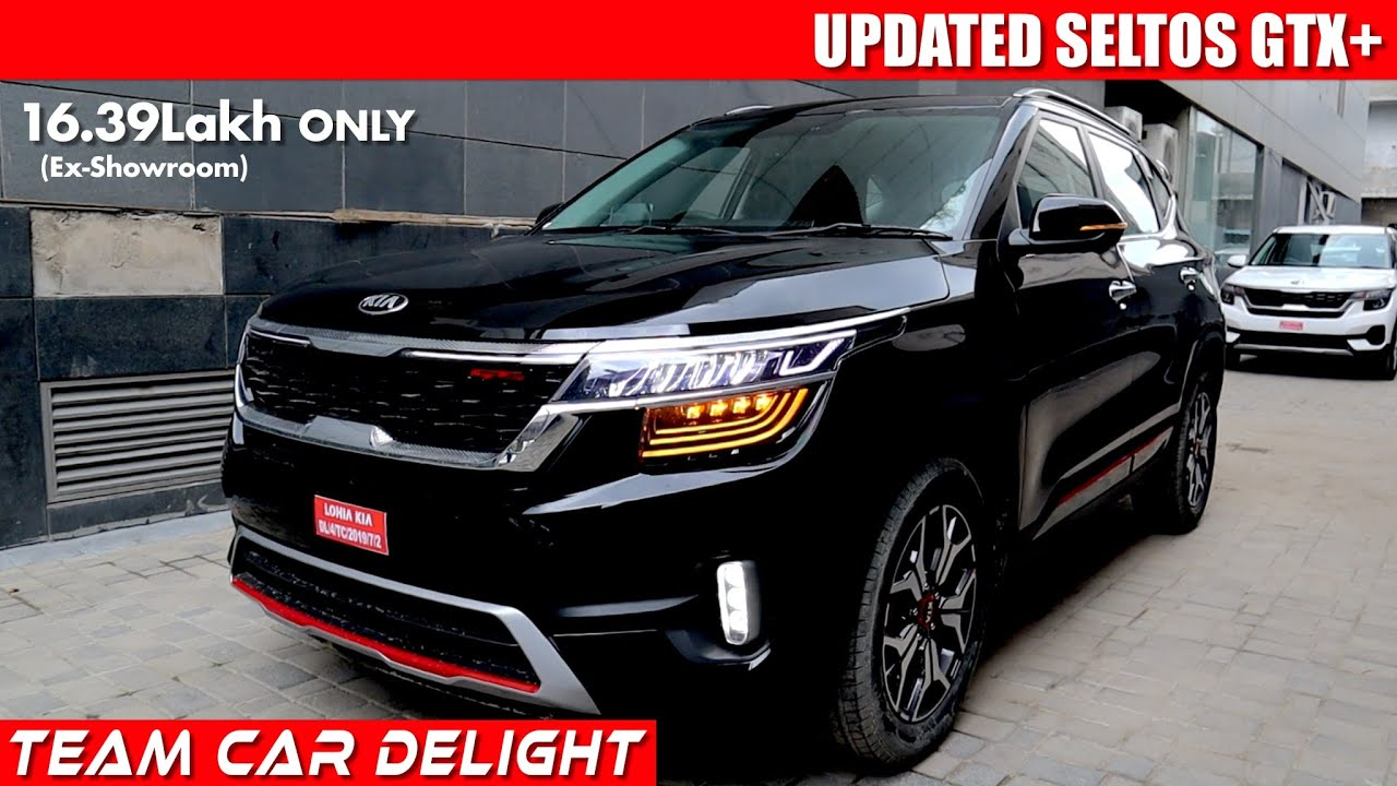 Kia Seltos Gtx 2020 Detailed Review With On Road Price Seltos 2020 Top Model Automatic Youtube