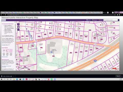 Mass Interactive Property Map GIS Map