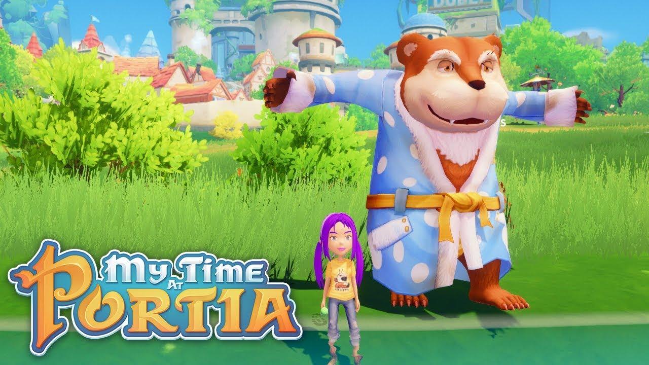 my time at portia papa bear