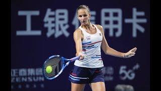 Karolina Pliskova | 2019 Zhengzhou Open | Top 5 Shots