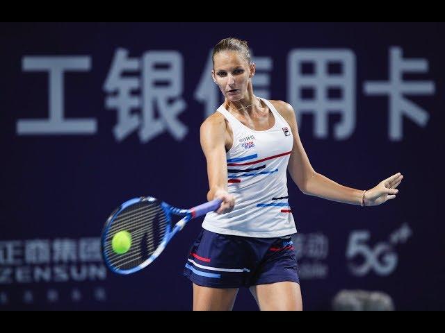 Karolina Pliskova   2019 Zhengzhou Open   Top 5 Shots