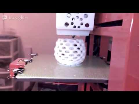 Printing a Klein bottle