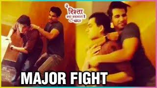 Mohsin Khan aka Kartik & Rishi Dev aka Naksh MAJOR FIGHT   Yeh Rishta Kya Kehlata Hai   TellyMasala