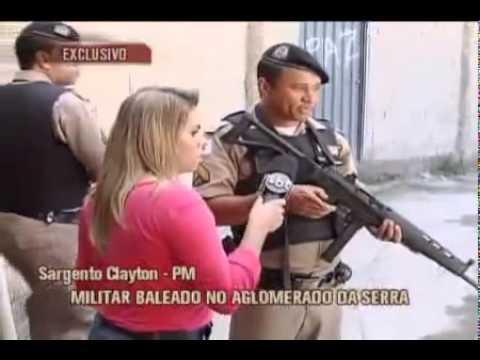 Tiroteiro No Aglomerado Da Serra - BH Ao Vivo Tv Alterosa 01