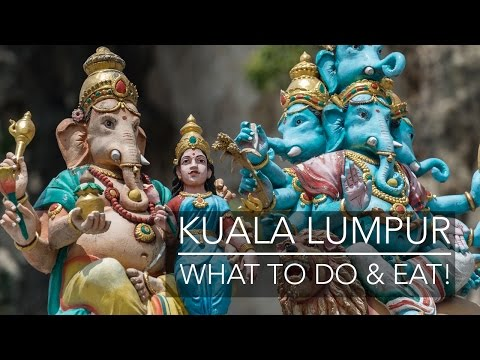 Malaysia Travel Vlog| What to do and eat in Kuala Lumpur | Lisa Blundell